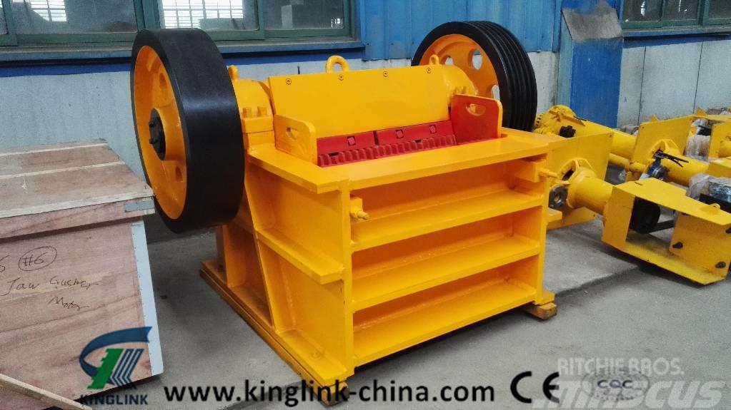 Kinglink Jaw Crusher PEX-250x1000