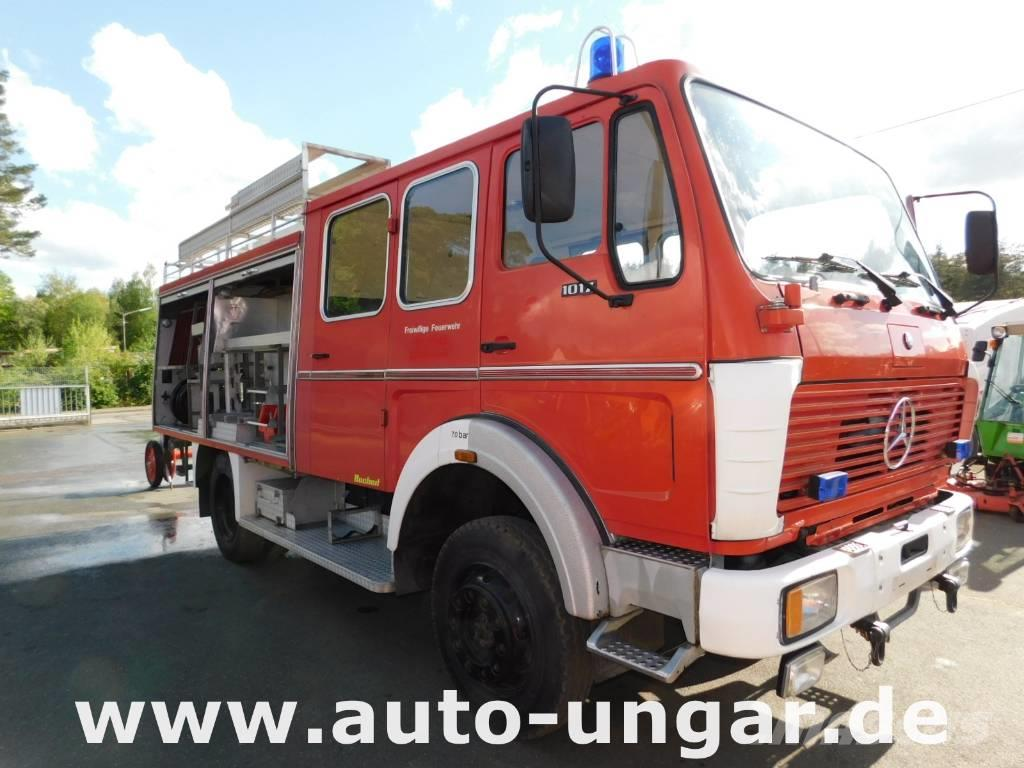 Mercedes-Benz 1017 AF Feuerwehr LF 16 4x4 Wasser Pumpe