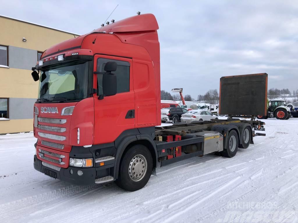 Scania R560 6x2+EURO5+RETARDER+ADR