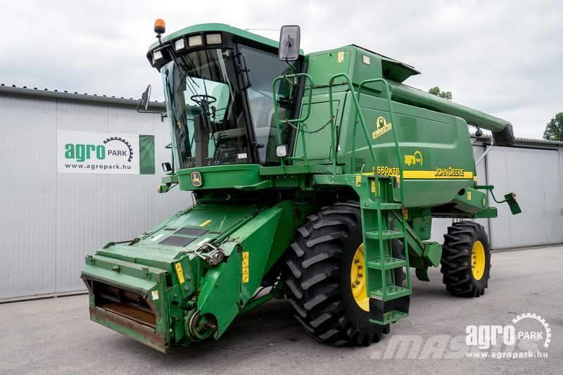 John Deere 9660 WTS (3293/5366 hours), NEW engine (with 350 h