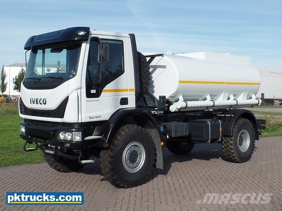 Iveco Eurocargo ML150E24WS 4x4 Fuel Tank Truck