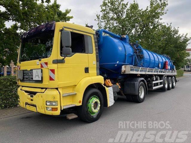 MAN TGA 18.460 Saug- und Druckwagen/25000L