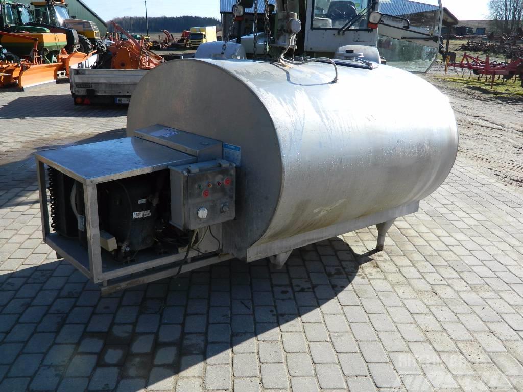 Mueller OC-400, Mjölkförvaring
