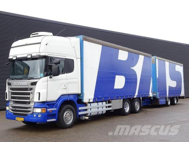 Scania R420 / 6X2 / TOPLINE / EURO5 COMBI / RETARDER