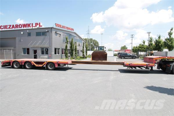 MAX Trailer 3 AXLE EXTENDABLE LOW LOADER F-S43-1A1Y