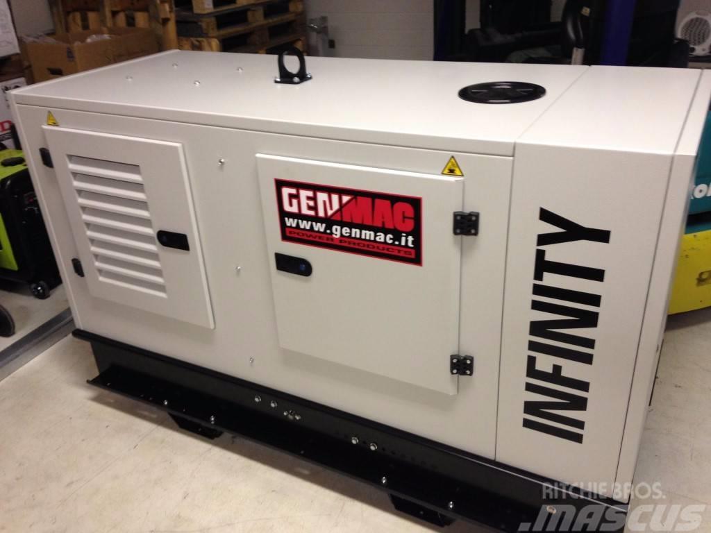 genmac aggregaat generator infinity 20 kva yanmar 400v preis baujahr 2017 diesel. Black Bedroom Furniture Sets. Home Design Ideas