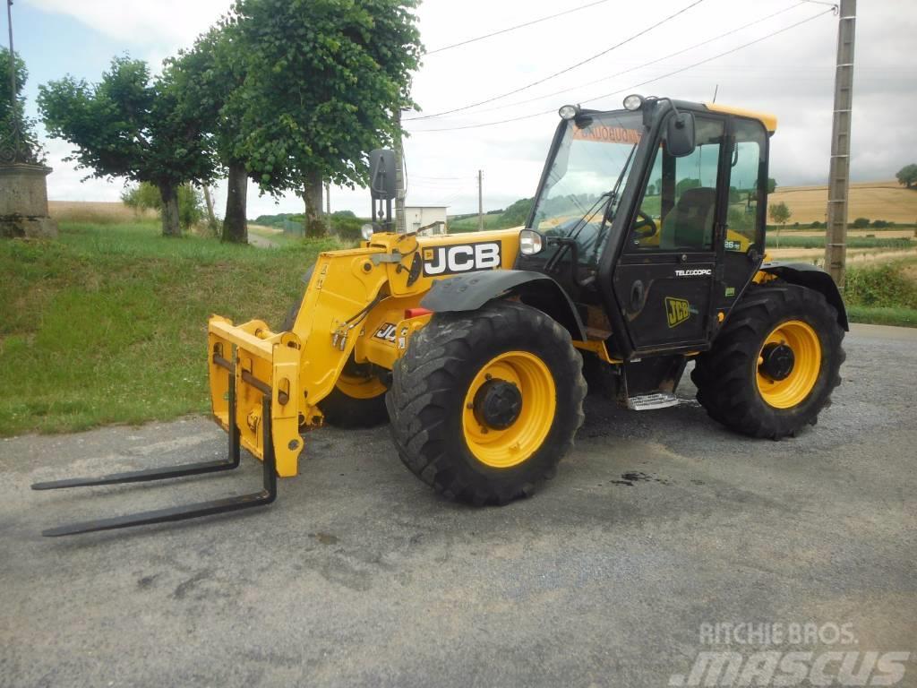jcb -526-56 occasion prix  37 000  u20ac - t u00e9lescopique agricole jcb -526-56  u00e0 vendre