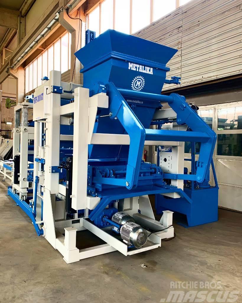 Metalika RVP-3000 Automatic block making machine