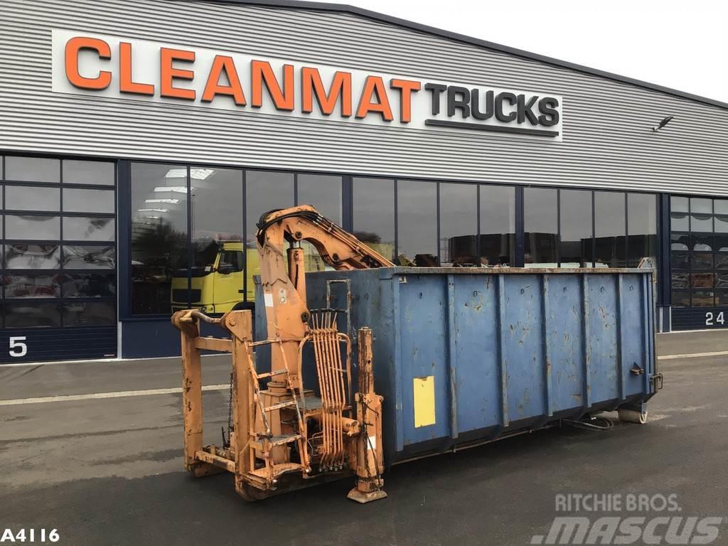 [Other] Container 17 m³ Atlas 3 ton/meter laadkraan