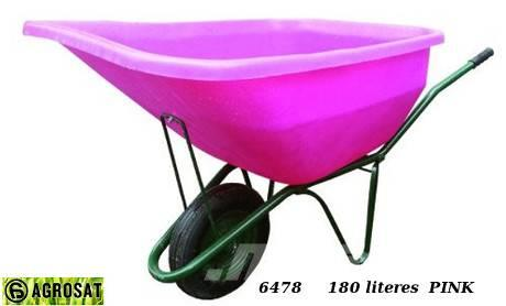 Agrosat Talicska LV1 180 lit pink 6478 egy kerekes fix