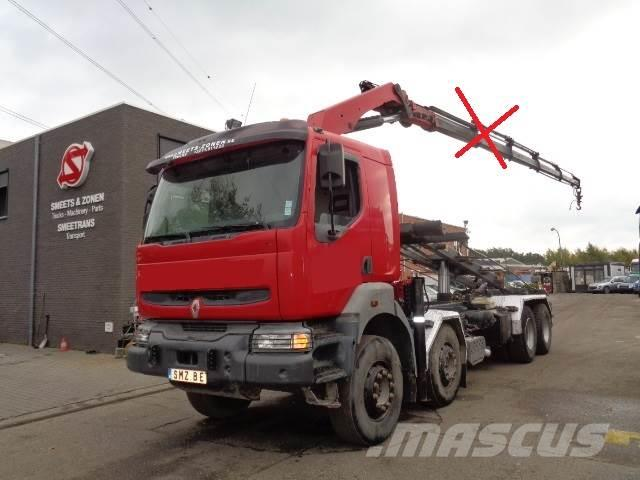 Renault Kerax 420 cable system 8x4