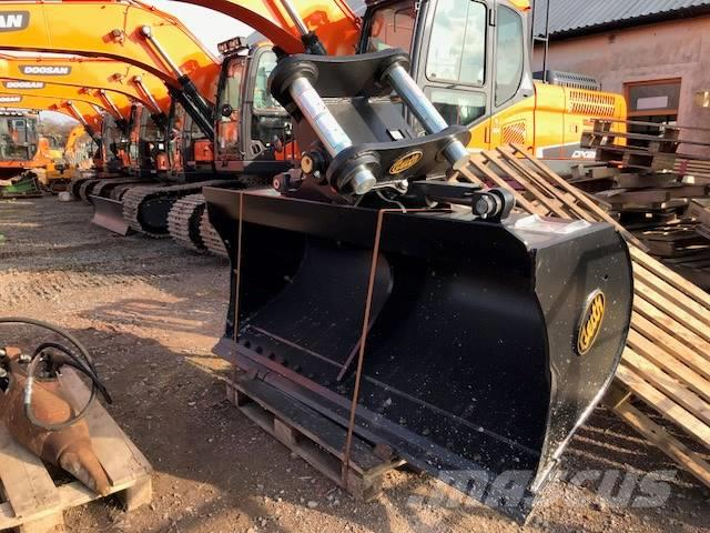 Geith 25 to 30t tilting grading bucket