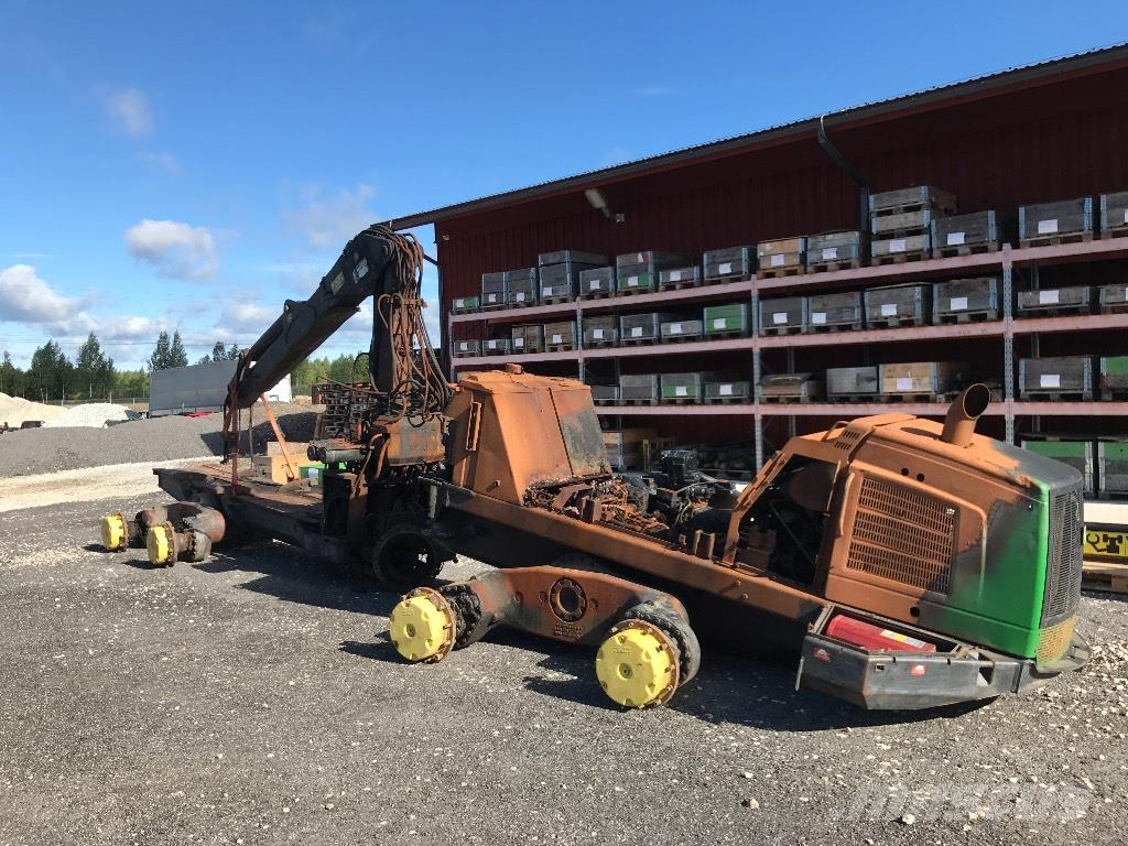 Used John Deere Parts >> Used John Deere 1510 E Parts Forwarders Year 2012 For Sale Mascus Usa