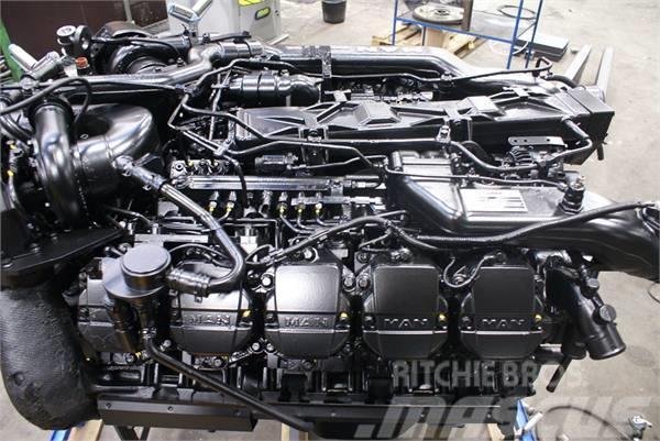 MAN D2840 LF 25, 2012, Motorer