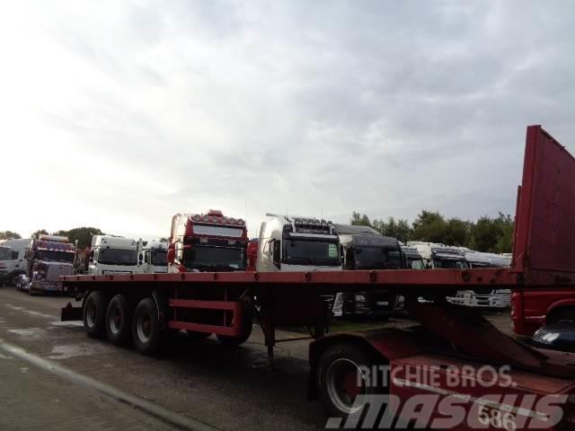 BSS Oplegger lames steel suspension