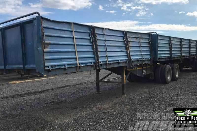 Sa Truck Bodies 2004 SA Truck Bodies Flatdeck
