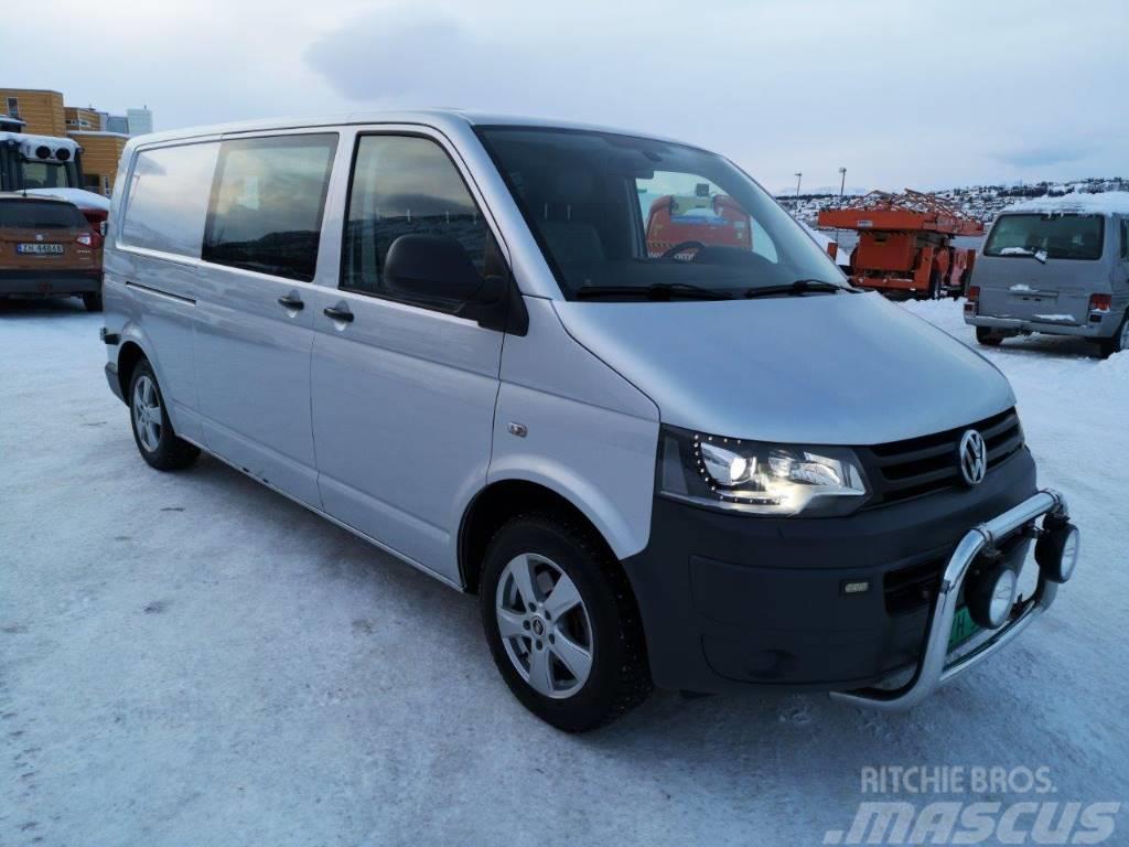 Volkswagen Transporter 4-Motion, Lang, innredet servicebil