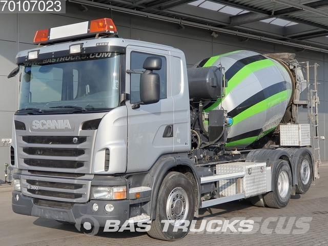 Scania G360 6X2 Lift+Lenkachse 7m3 Intermix Euro 5