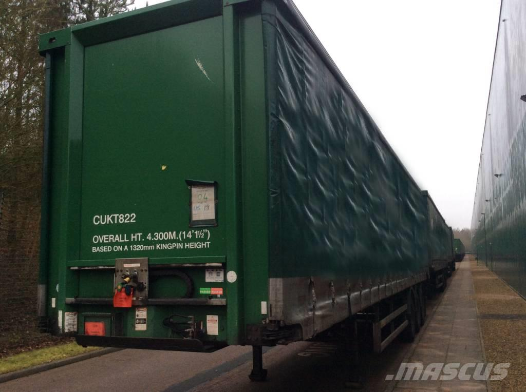 Don-bur 13.7m x 4.3m Curtainsiders - Choice of 30