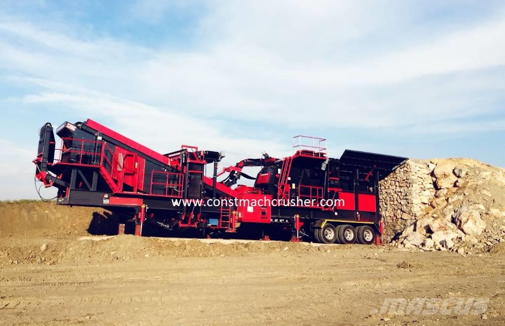 Constmach 250 tph Mobile Limestone Crusher – Ready At Stock
