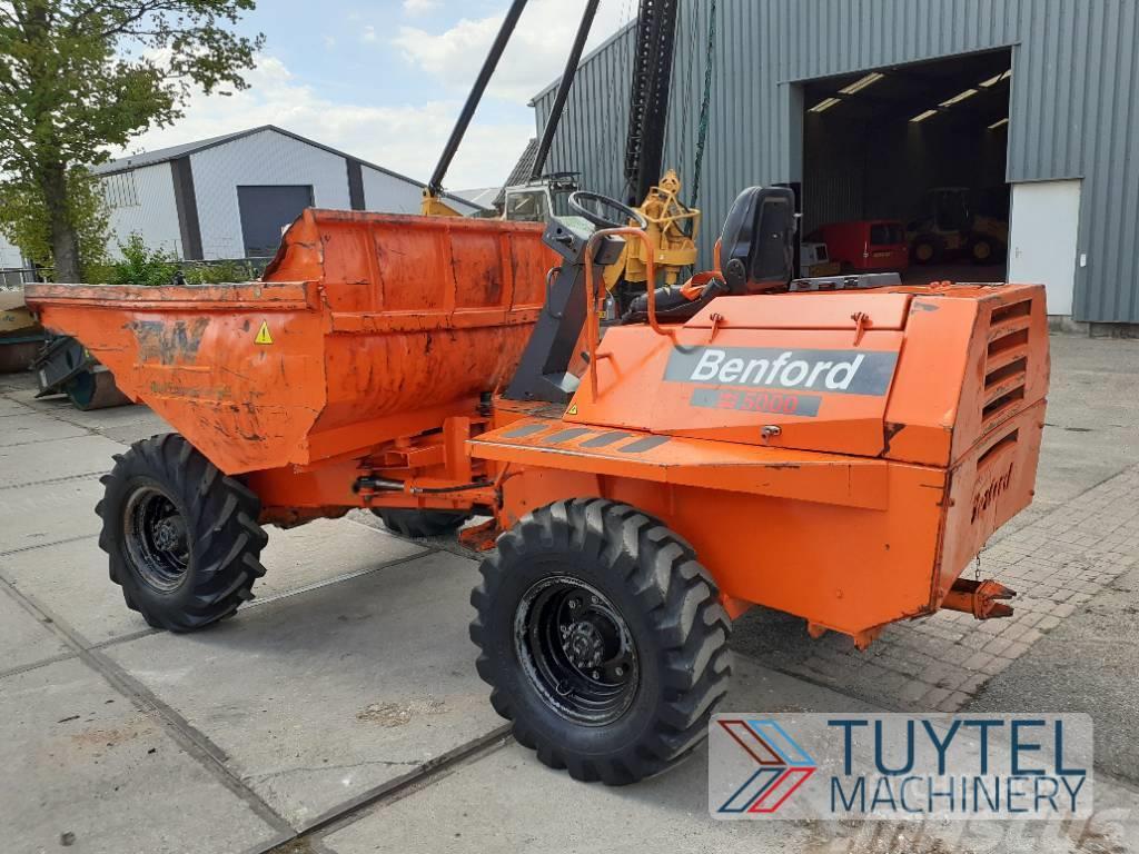 Benford 5000 APN dumper knikdumper wheeled Kipper loader