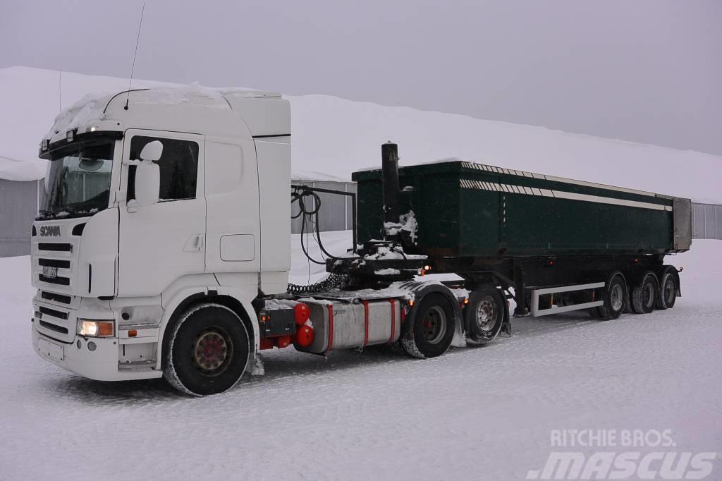 Scania R480 m grustrailer Kilafors 350.000:-+m