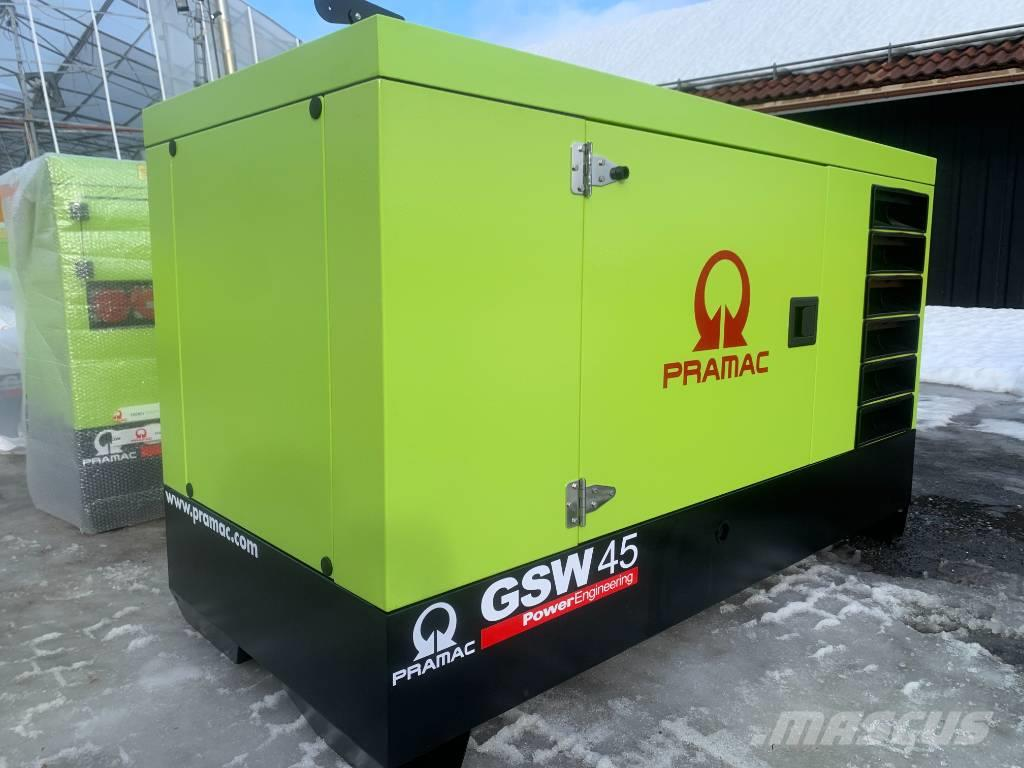 JCB Pramac Reservkraft elverk elgenerator omg lev