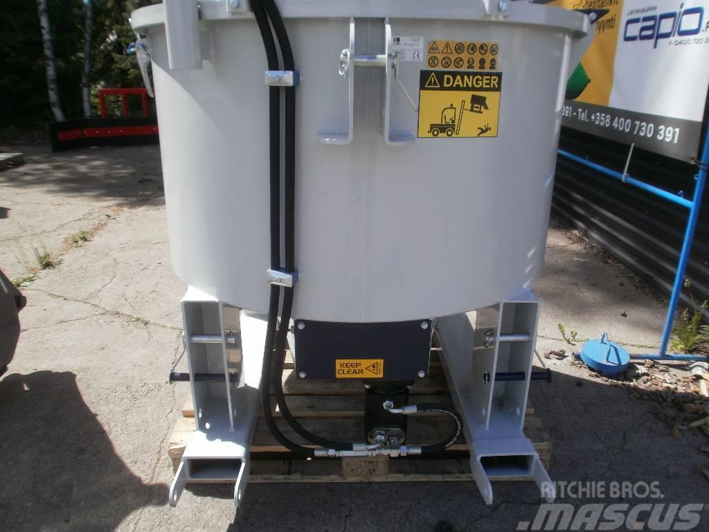 [Other] Tasosekoittimet ja kauhat - mixers and buckets
