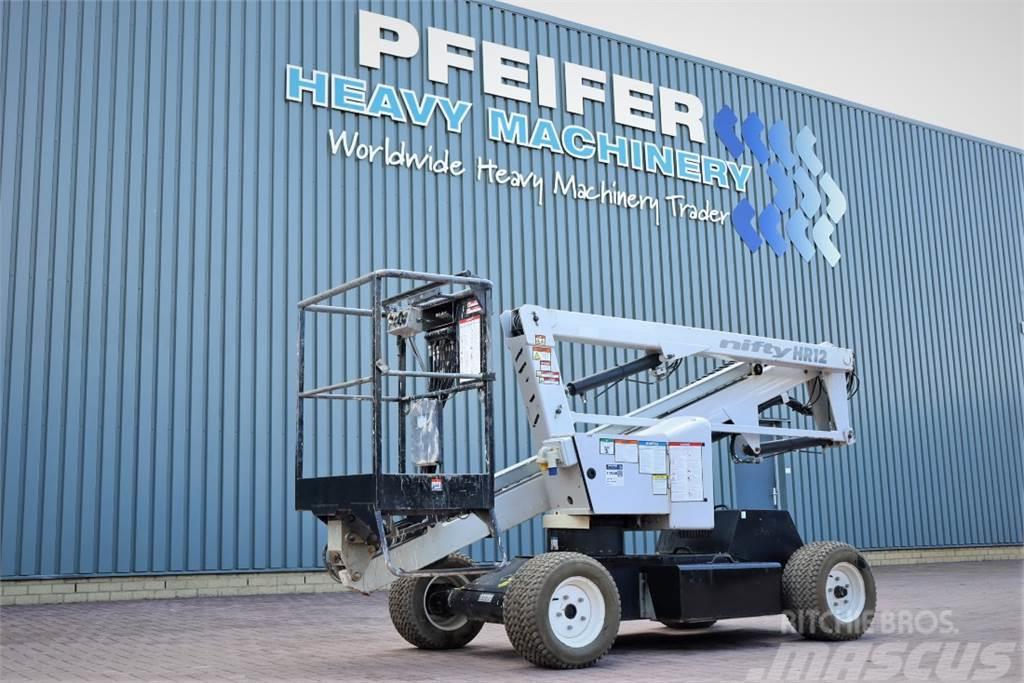 Niftylift HR12NDE Bi-Energy, 12.2m Working Height, Non Marki