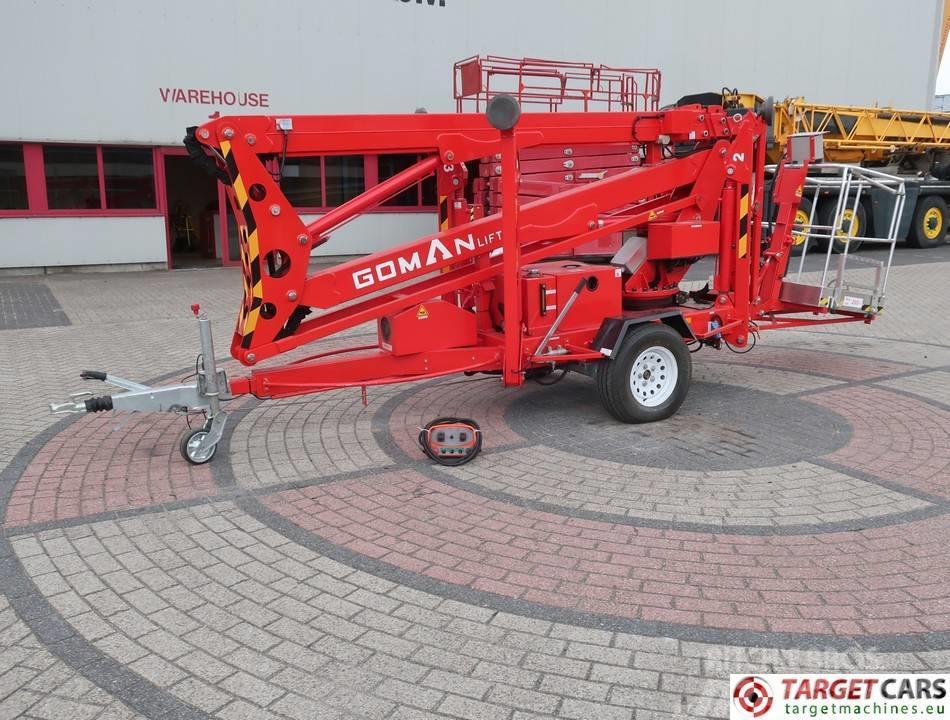 Goman P18 Articulated Towable Boom BiFuel Lift 1830cm