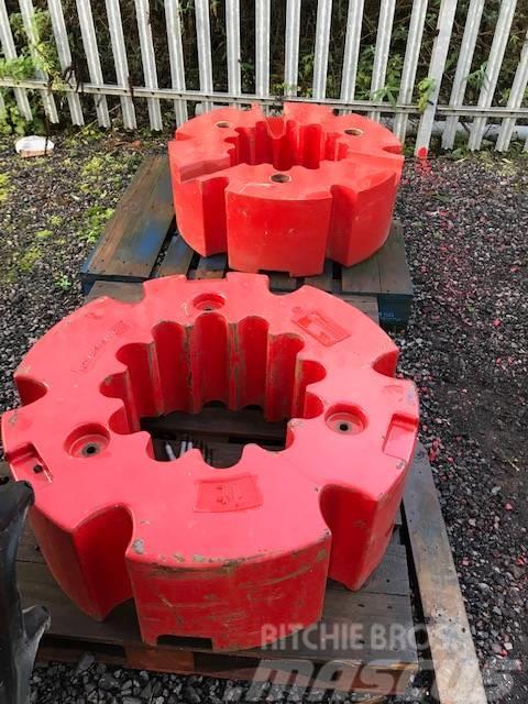 Fendt 2 x 1000 KG Wheel Weights