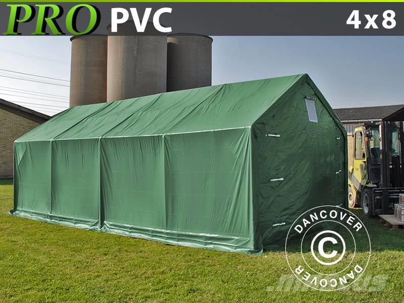 Dancover Storage Shelter 4x8x2x3,1m PVC, Lagerhal