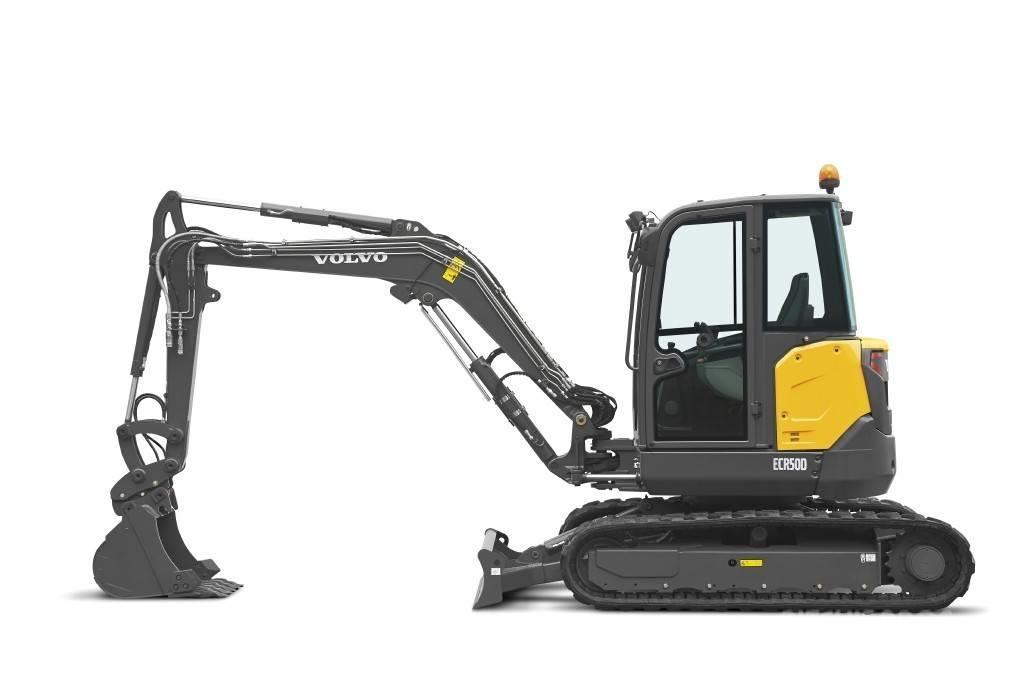 Volvo ECR50 - Mini excavators