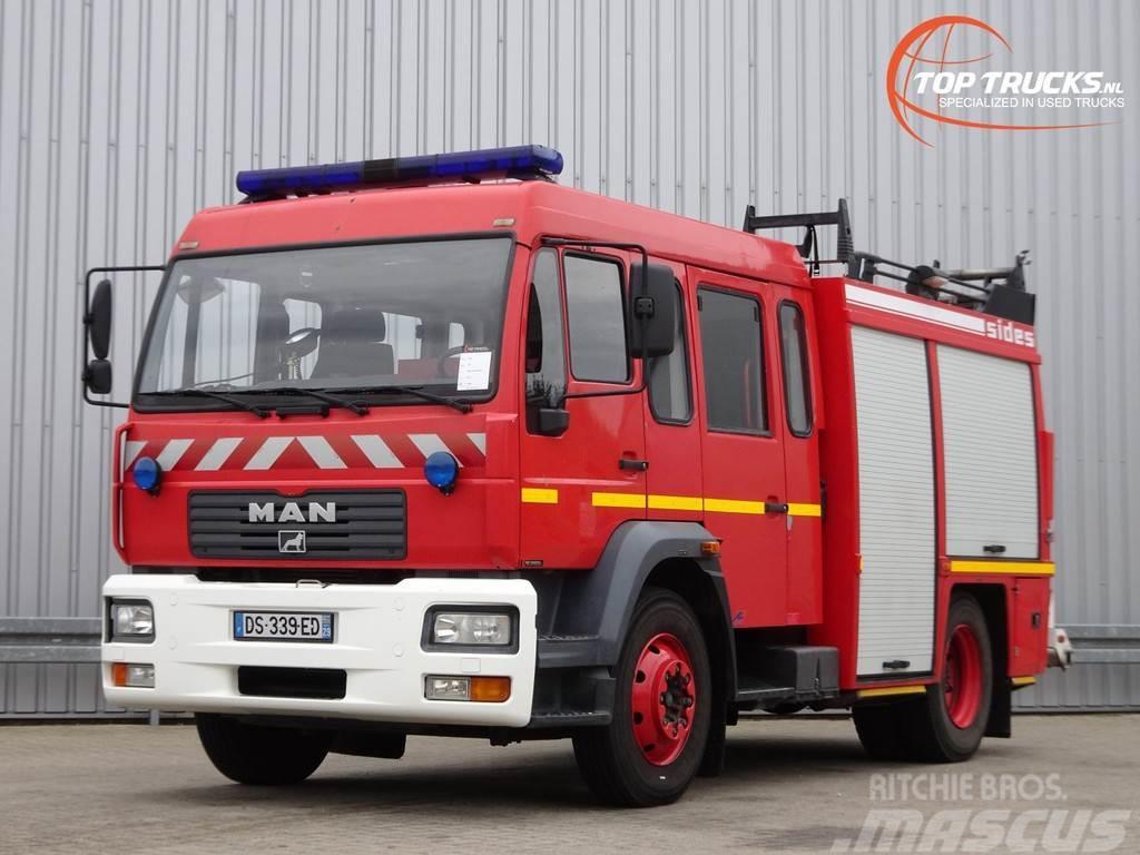 MAN L75 14.280 Doppelcabine - 3.000 ltr watertank - Fe