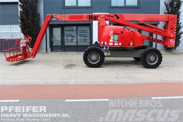 Haulotte HA20PX Diesel, 4x4x4 Drive, Jib, 20.7m Working Hei