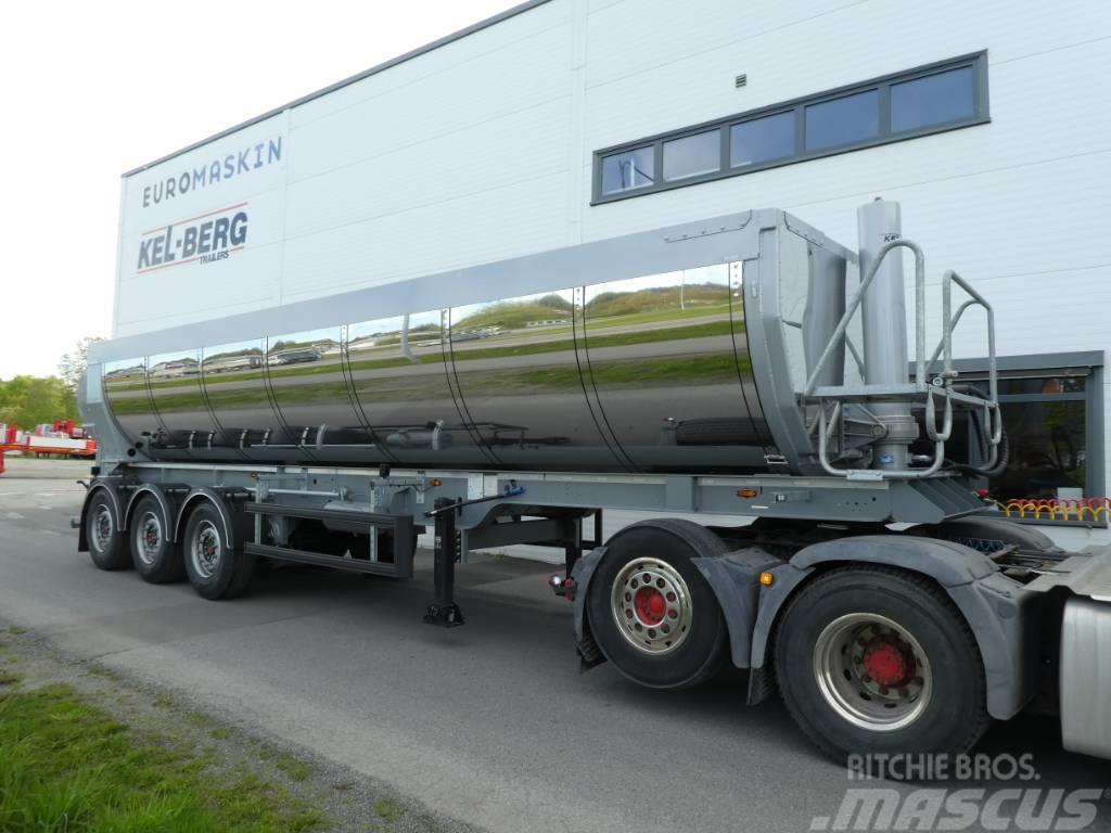Kel-Berg T250K Asfalt Semi - Splitkapell - Leveringsklar