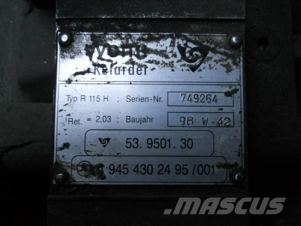 Used Voith Retarder R115H / R 115 H transmission Year: 1998