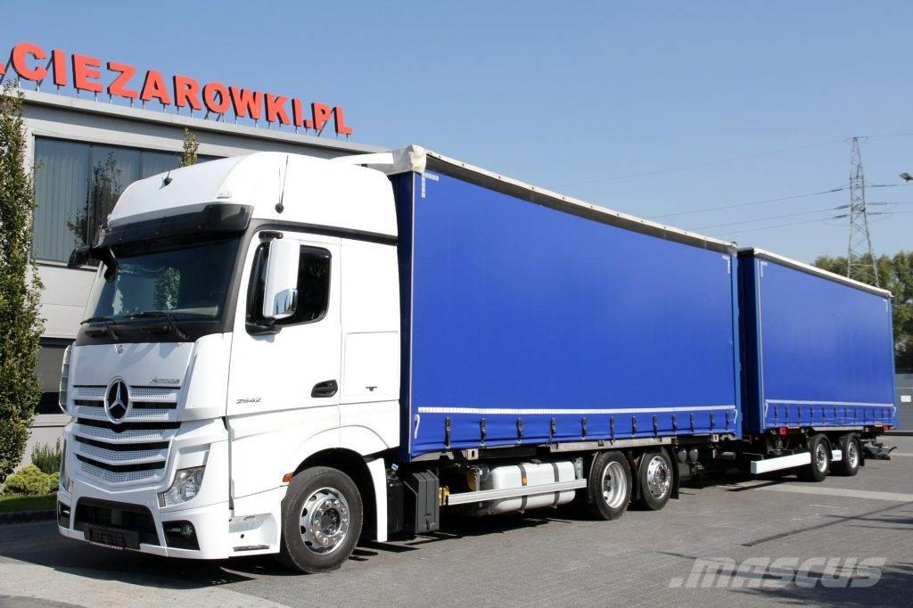 Mercedes-Benz SET BDF GIGA MEGA LOW DECK TARPAULIN ACTROS 2542 E