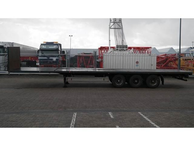 Pacton 3 AXLE FLATBED TRAILER