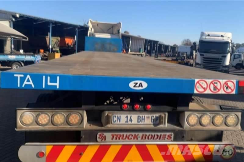 Sa Truck Bodies 2012 Sa Truck Bodies Flat Deck 2012 South Africa Used Other Trailers Mascus Usa