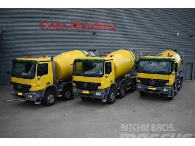 Mercedes-Benz Actros 4141 8x4 Stetter 10 kub Mixer
