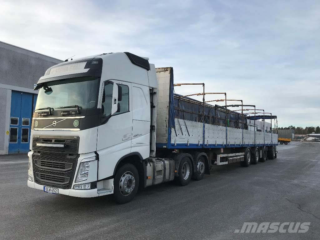 used volvo volvo fh 460 med parator trailer tractor units. Black Bedroom Furniture Sets. Home Design Ideas