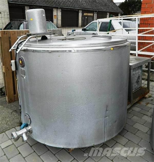 Wedholms DF713, Milk storage equipment