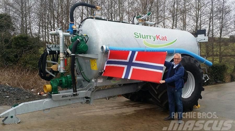 SlurryKat tanker Fra 7000 - 24000l, 2016, Flytgödselspridare