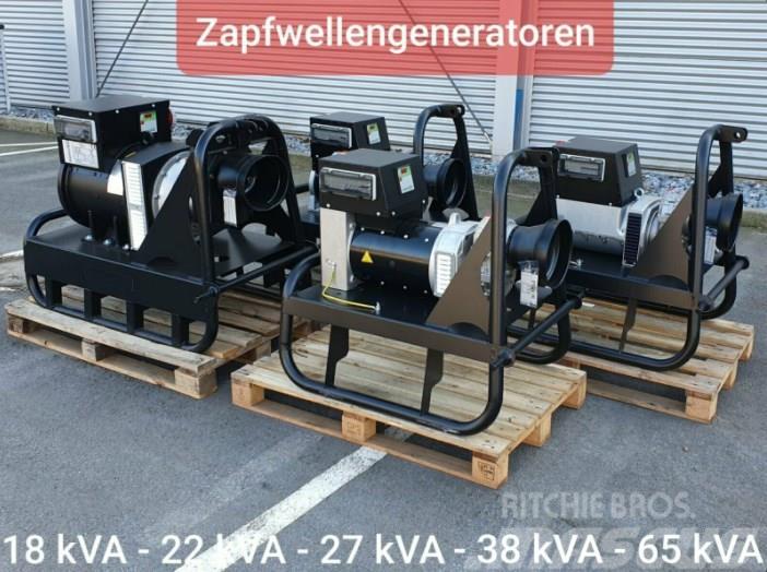 [Other] Zapfwellengenerator 18 - 65 kVA Stromerzeuger Zapf