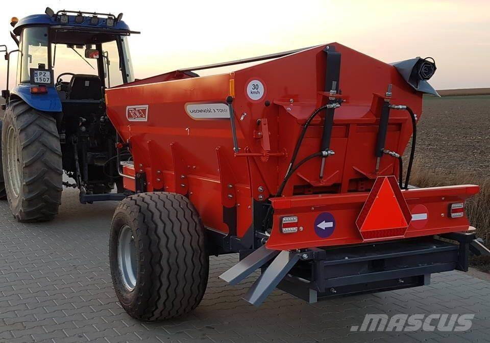 [Other] XZ RCW 3 T Fertilizer and Lime Spreader