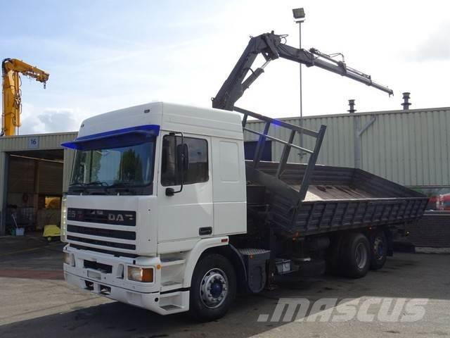 DAF 95 ATI 350 HP Kipper Crane 6x2 Good Condition