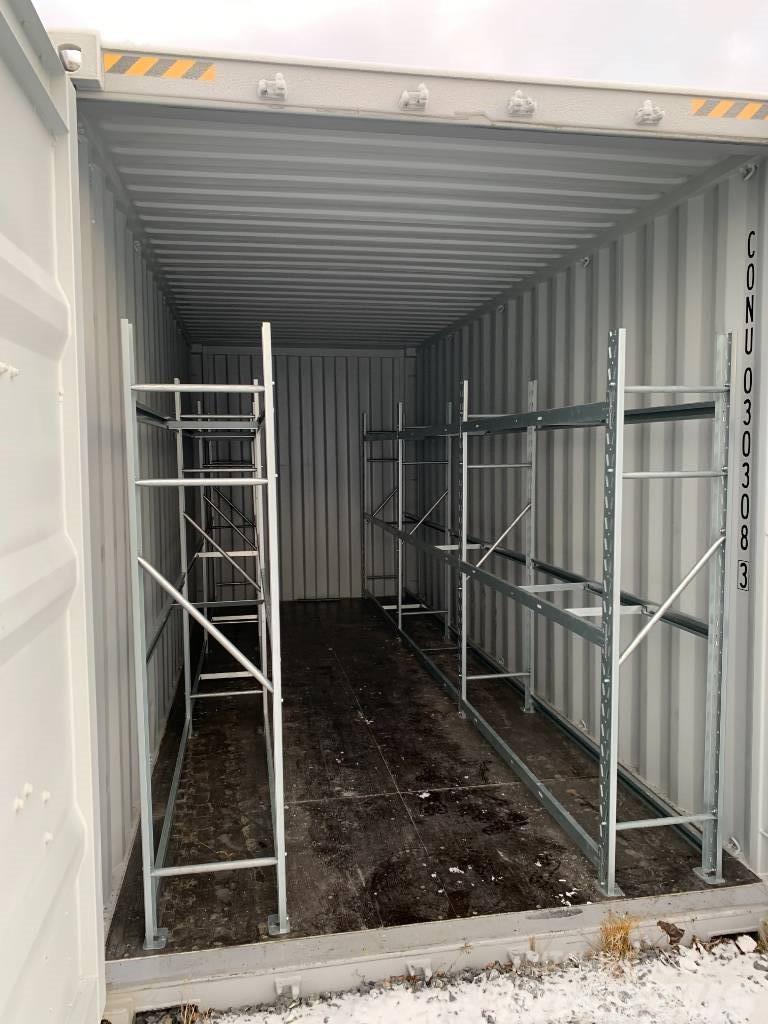 [Other] Däckcontainer 20fots highcube för däckförvaring