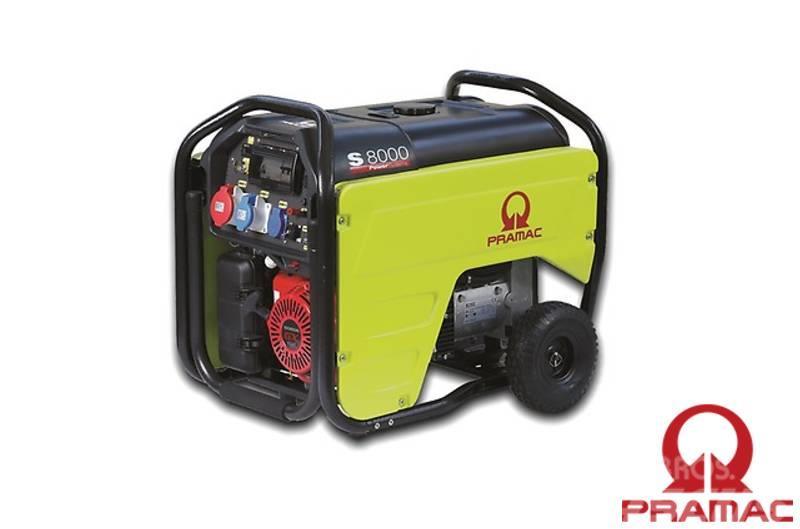Pramac S8000 230/400V  4/8.3 kVA