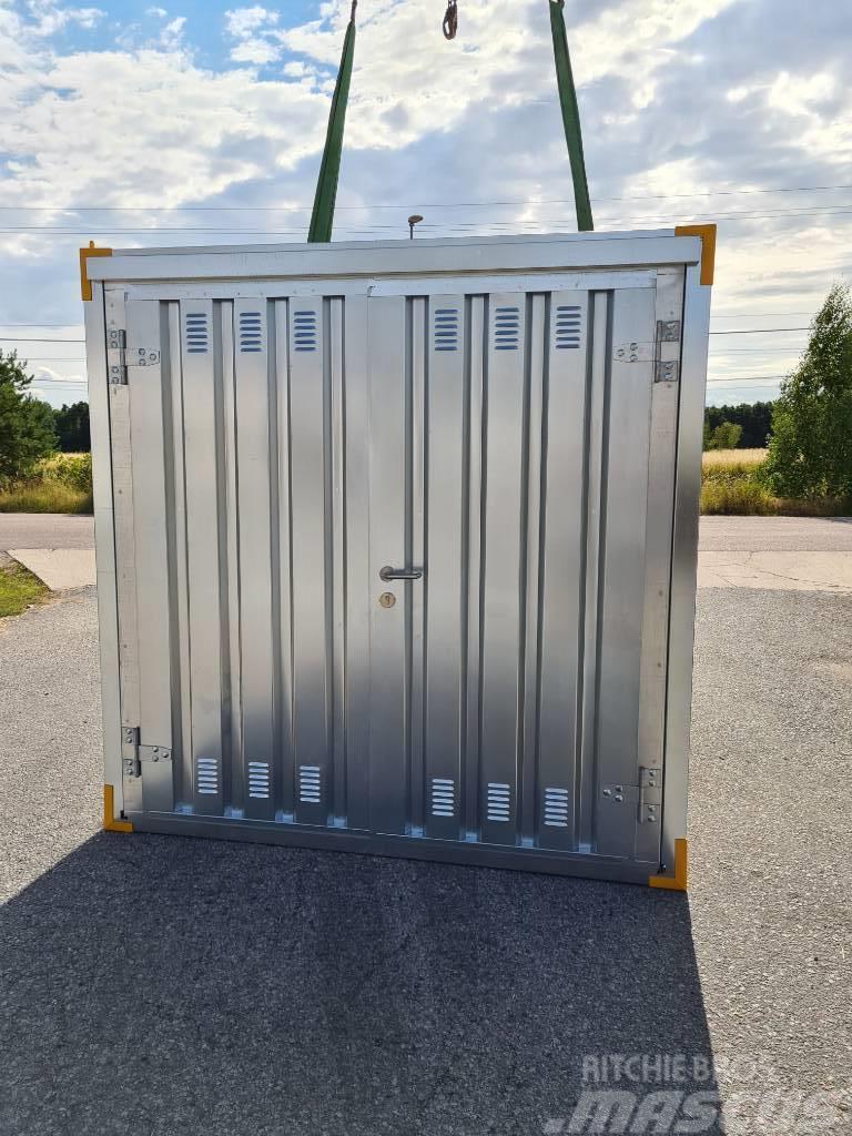 [Other] Förrådscontainer Monterbar Container 2 x 2m